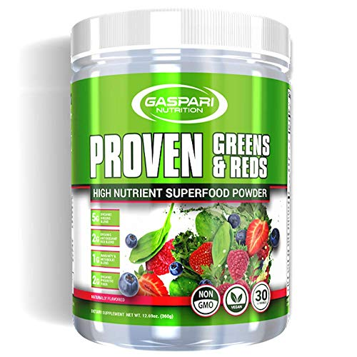 Proven Greens & Reds | High Nutrient Superfood Powder (Naturally Flavored)