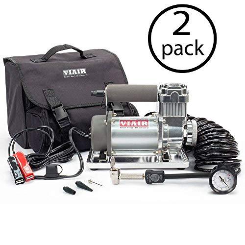 Find Discount VIAIR 300P 12V 33 Percent Duty 150 PSI Compressor Kit for 33 Tires (2 Pack)