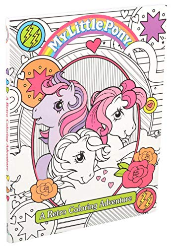 My Little Pony Retro Coloring Book (Coloring Books)