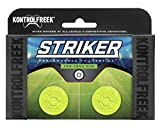 KontrolFreek Striker for Xbox One Controller | Performance Thumbsticks | 2 Low-Rise | Green