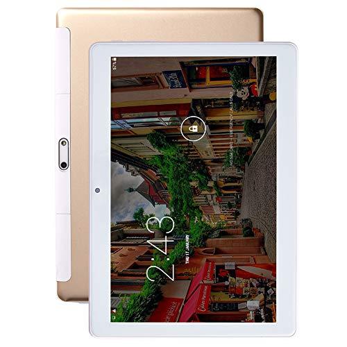 PC de la Tableta de Android,Pantalla IPS de 10 Pulgadas,WIFI,Tableta Baratas de la llamada 3G, Ranura para Tarjeta SIM Dual,1 GB de RAM + 16 GB de ROM,Batería de 4000 mAh,Cámara Trasera de 5 MP,Gris