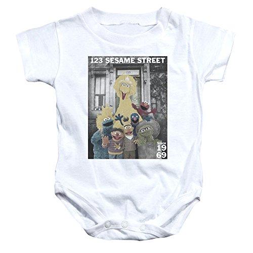 Sesame Street - Barboteuse - Bébé (garçon) - blanc - 18 mois