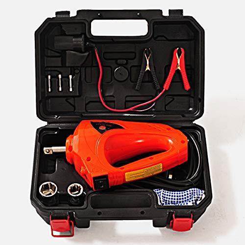 E-HEELPインパクトレンチ 12V 電動一般的な車両修理ツール高トルク480N.M ビルトインLED電動レンチタイヤ交換用 ボックス付き