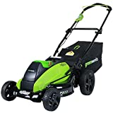 Greenworks 19-Inch 40V Cordless Lawn Mower, Battery Not Included 2501302