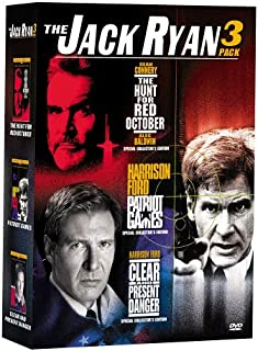 The Jack Ryan 3 Pack: (The Hunt for Red October / Patriot Games / Clear and Present Danger)