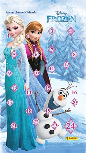 Disney Die Eiskönigin: Adventskalender mit ScanWish-Funktion: Stickeradventskalender
