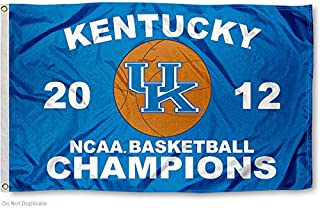 College Flags and Banners Co. UK Wildcats Final Four 2012 Basketball National Champs University Large 3x5 Flag