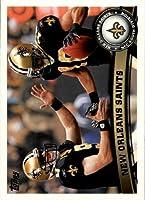 2011 Topps #156 New Orleans Saints Team Drew Brees Lance Moore NFL Football Trading Card