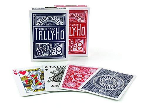 TALLY-HO(タリホー) CIRCLE BACK(サークルバック) トランプ 赤 ポーカーサイズ
