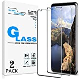 [2-Pack] KATIN For LG V30, LG V30 Plus, LG V30s ThinQ, LG V30s Plus ThinQ, LG V35 ThinQ Tempered Glass Screen Protector No-Bubble, 9H Hardness, Easy to Install