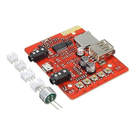 DIBAO Esterafonía Amplificador de Audio Amplificador MÓDULO Tuner Bluetooth Receptor USB Power...