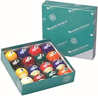 Aramith Pure Phenolic Pool Balls Regulation Belgian Made Billiard Ball Set