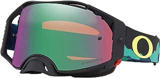 Oakley Airbrake MX Eli Tomac Signature Series Adult Off-Road Motorcycle Goggles - Camo Army Blues w/Prizm MX Jade Iridium/One Size