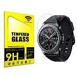 actecom® Protector Pantalla Compatible con Samsung Gear S3 Frontier Cristal Templado