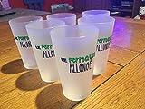 6Gläser Glas Ricard der Papagei liegend NEU 25cl