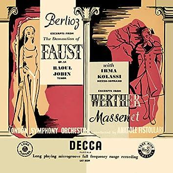 Berlioz: La damnation de Faust; Massenet: Werther – Excerpts (Opera Gala – Volume 2)