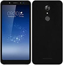 VCAREGADGETS Matte Black Skin Compatible with Full Body Back & Front of Micromax Infinity Canvas
