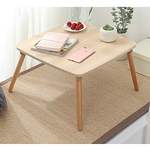 Laptop bureau voor Bed LAPTOP STAND Plein Computer Notebook TV Bureau Creative Breakfast Bed lade Laptop Ronde Tafel for het lezen, kijken Movie op Laag/Bank (Kleur: A, Maat: L60 * W60 * H30cm)