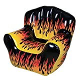 40' X 30' FLAME PRINT CHAIR INFLATE