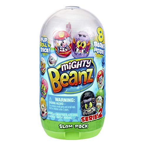 Mighty Beanz 66626 Slam Pack-Styles Vary, Multi Colour