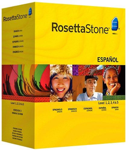 Rosetta Stone : Espagnol (Espagne) Niveau 1, 2, 3, 4 & 5 avec Audio Companion