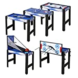 hlc 3ft 5 in 1 Game Table Pool, basketball, table tennis, hockey, bow and arrow