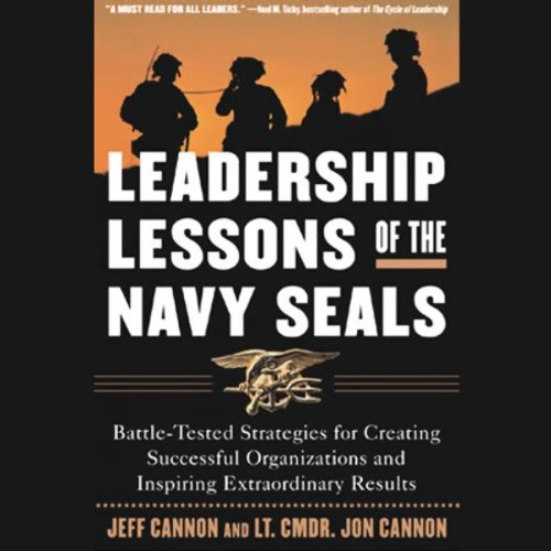 Leadership Lessons of the Navy Seals audiobook cover art