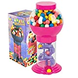 PlayO 9.75' Spiral Gumball Machine Toy - Kids Dubble Bubble Twirling Style Galaxy Candy Dispenser - Birthday Parties,...