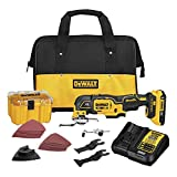 Product Image of the DEWALT 20V MAX XR Oscillating Multi-Tool Kit, Variable Speed (DCS356D1)