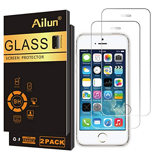 Ailun Screen Protector Compatible iPhone 5S...