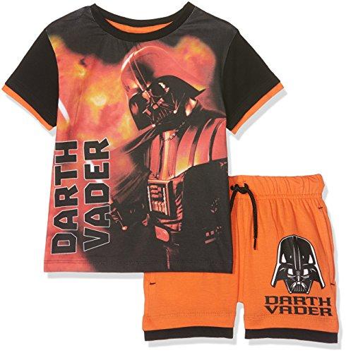 Star Wars Ropa Interior de Deporte, Naranja (Orange Orange), 3-4 Años para Niños