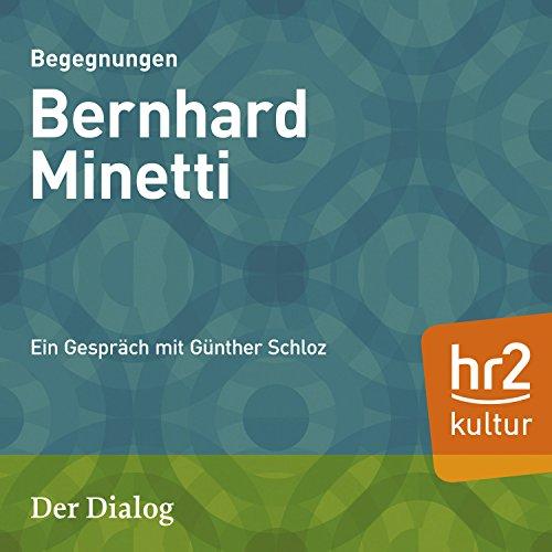 Bernhard Minetti audiobook cover art