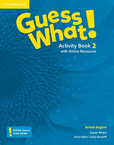 Guess What. 2 - Activity Book With Online Resources - British English