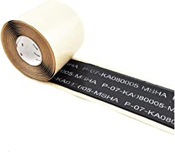 NUOCHEN Electrical Tape,Cable Repair Tape Mining Insulation Tape Enhanced Heavy Duty Tape, Non-Reflective, Multipurpose