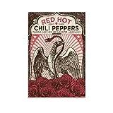 UWER Afiche De Red Hot Chili Peppers Poster Dekorative
