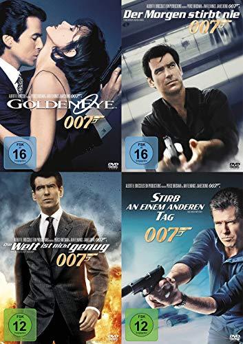 James Bond 007 PIERCE BROSNAN komplette Edition 4 DVD Collection