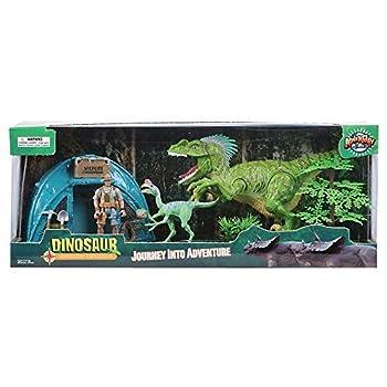 Rhode Island Novelty 6 Pc Dinosaur Explorer Set