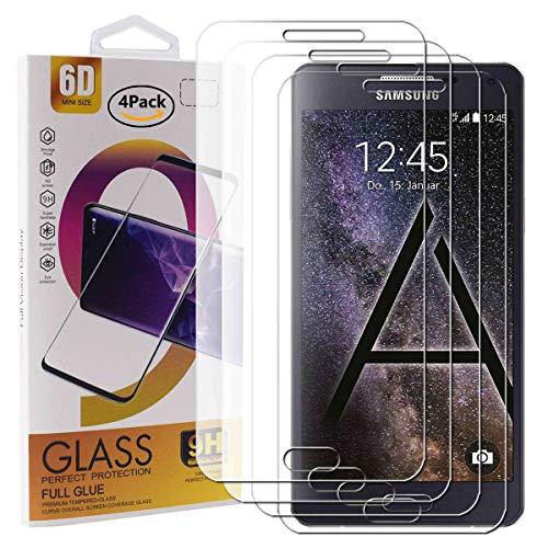 Guran 4 Paquete Cristal Templado Protector de Pantalla para Samsung Galaxy A5...
