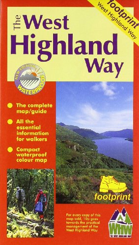 West Highland Way: Map/Guide (Footprint S.)