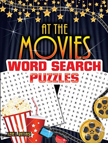 At the Movies Word Search Puzzles product image