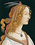 Botticelli LARGE Notebook #1: Cool Artist Gifts - Idealized Portrait of a Lady (Portrait of Simonetta Vespucci as Nymph) Sandro Botticelli Notebook ... to Write in 8.5x11' LARGE 100 Lined Pages
