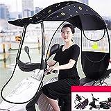 RLRL Ombrello Universale Parasole Parapioggia per Motocicli Elettrici Universali E Biciclette Elettriche Ombrello Impermeabile (Color : B, Size : Type 2)