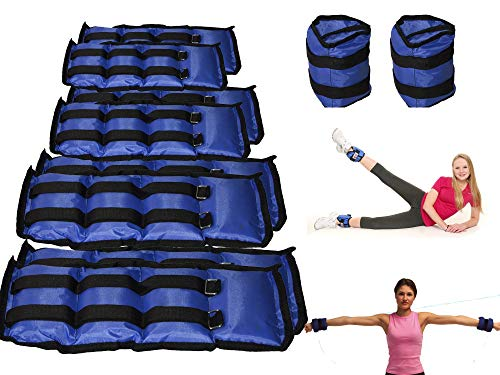 Pack de 2 pesas desde 1,5 KG hasta 4 KG entre las dos pesas para los tobillos y muñecas - 1,5 kg
