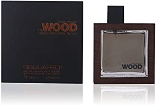 Dsquared2 He Wood Rocky Mountain Eau de Toilette Spray for Men, 3.4 Ounce