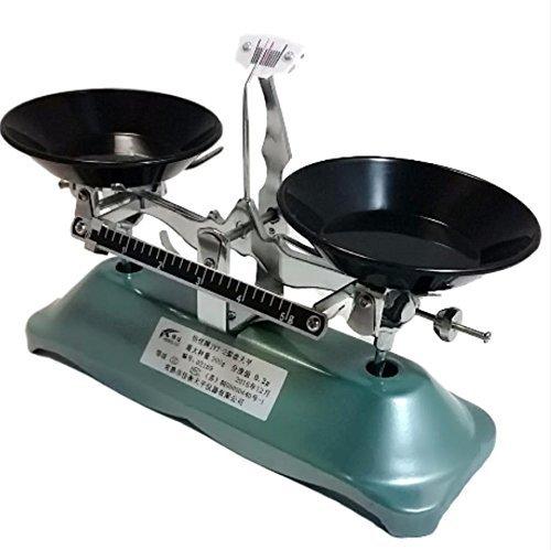 上皿天秤 分銅 200g 実験 測定 秤量 200g レトロ