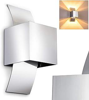 Aplique de aluminio cromado