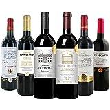 全て金賞、全てボルドー、全て生産者元詰め 厳選金賞受賞 赤ワイン 750ml×6本セット