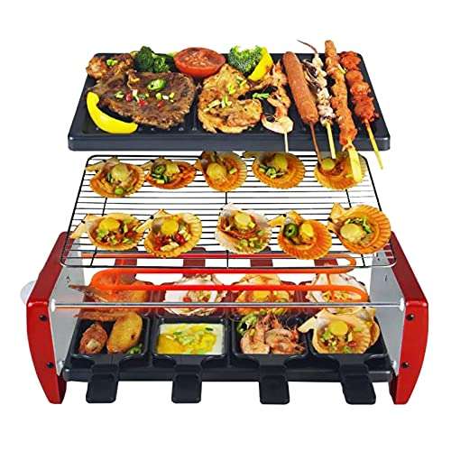 Inicio Equipo Parrillas de raclette de 1350 W con 8 mini sartenes Termostato ajustable Cocineros Parrilla de raclette tradicional profesional Material antiadherente Fácil de limpiar (Tamaño: 1350W)