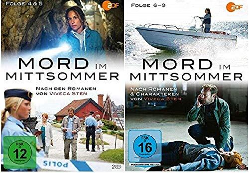 Mord im Mittsommer 4-9 / Folgen 4-9 [DVD Set]