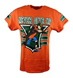 John Cena Orange 15x Never Give Up - Camiseta para hombre